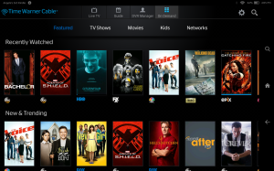 time warner app for kindle fire